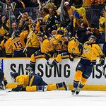 ​Preds make history twice over, tie series with Sharks