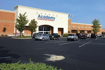 Soon Academy Sports will begin work on another location near the Wolfchase Mall.
