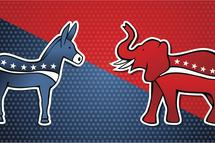 democrats republicans donkey elephant