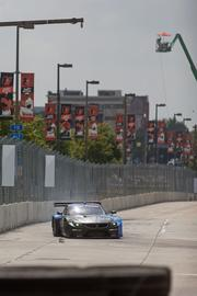 Cars round turn 4 during practice runs on day 1 of the 2013 Grand Prix of Baltimore. The event will not return for 2014 and 2015.