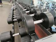 The Sun Devil Fitness Complex includes free weights on the first floor.