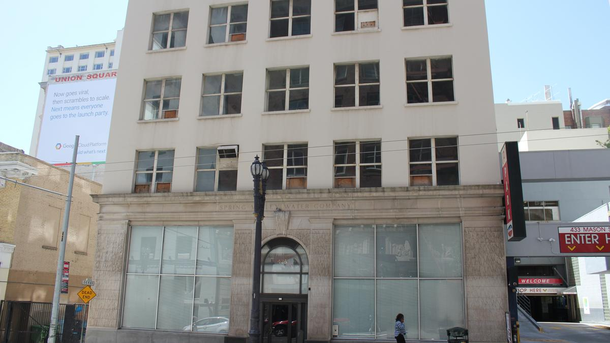 New hotel bar planned for san francisco 39 s union square for Bar food union square san francisco