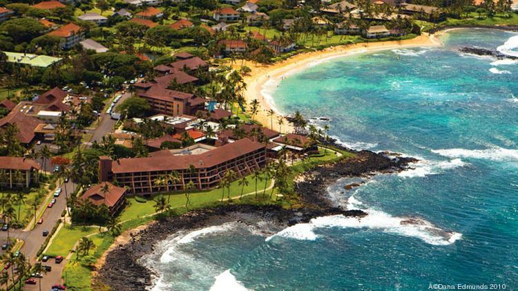Kauai hotels saw the largest increase in occupancy among the Hawaiian Islands last week, according to a report by Hospitality Advisors LLC and Smith Travel Research. Seen here is the Sheraton Kauai Resort.