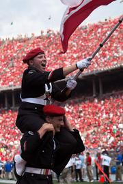 Members of the band celebrated Hall's TD.