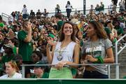 Charlotte 49ers fans eagerly await the first kickoff.  The 49ers beat the Campbell Fighting Camels 52-7 in their inaugural football game at Jerry Richardson Stadium, on Aug. 31, 2013.