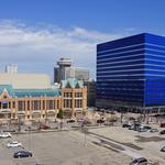 Could Fourth and Wisconsin development conflict with arena district?