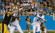 The Panthers wrapped up their preseason with a win against the Pittsburgh Steelers on Aug. 29. The team plays its first regular-season game against the Seattle Seahawks on Sunday.