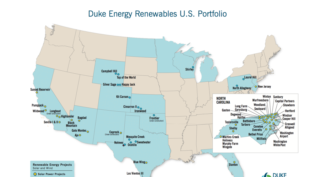 Duke Energy Building Its 1st Solar Project In New Mexico