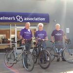 Wichitans undertaking 1,000-mile bike ride to support Alzheimer's research