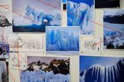 SeaWorld designers were very careful in the recreation of actual ice flows and glaciers for the Antarctica scenery.