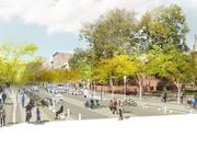 Making the neighborhood more pedestrian and bicycle friendly are among the goals of Old City District.
