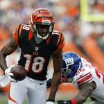 Bengals star receiver signs contract extension