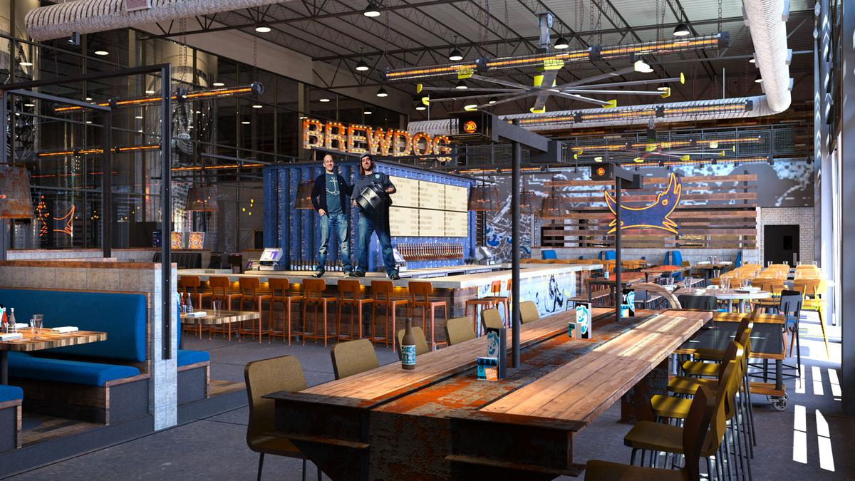 Brewdog S Dogtap Columbus Bar To Be Ready By Fall When Brewing Begins At U S Headquarters Columbus Business First