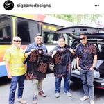 Sig <strong>Zane</strong> Designs makes 26 deliveries via Uber