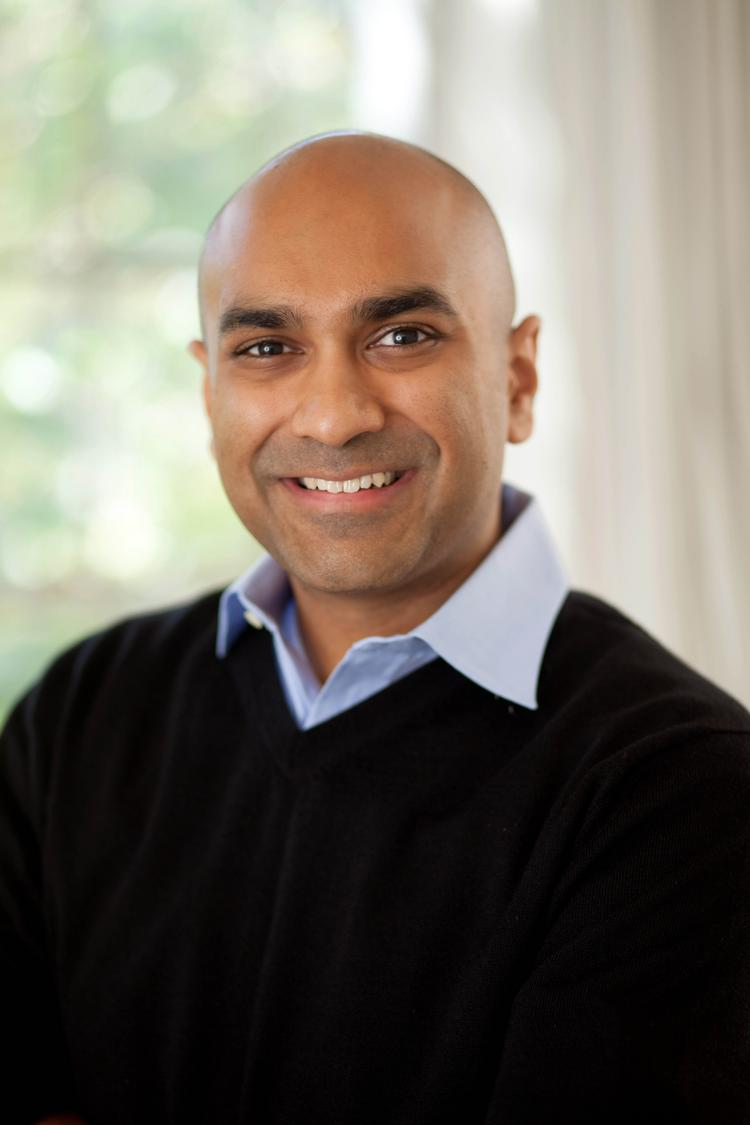 Manish Patel, a former Google executive, invests in startups at Highland Capital Partners in Menlo Park.