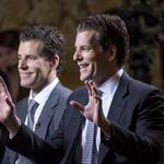<strong>Winklevoss</strong> brothers favor transparency as cryptocurrency catches on (Video)