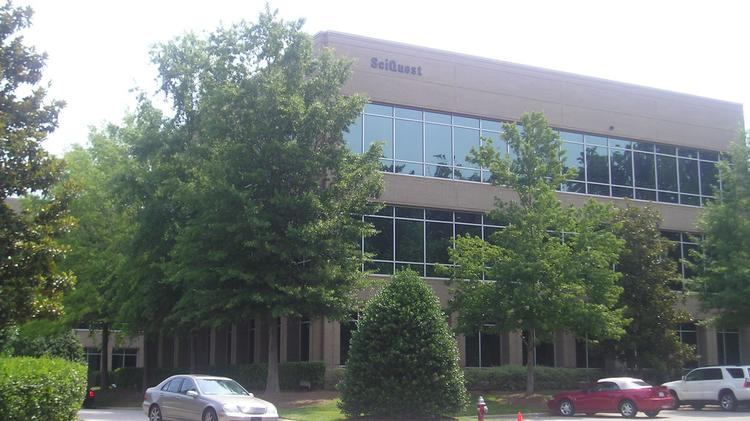 SciQuest has moved out if this building in Cary.