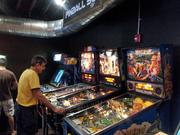 The bar has pinball machines as well, but they cost 50 cents to play.
