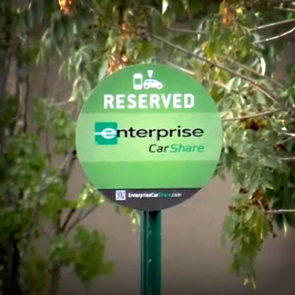 Enterprise Rent-A-Car is the latest player in Washington's car-sharing market, launching its Enterprise CarShare program Sept. 23 in the District.