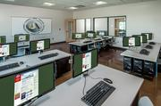 Classroom space at the training center