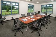 The conference room in the training center