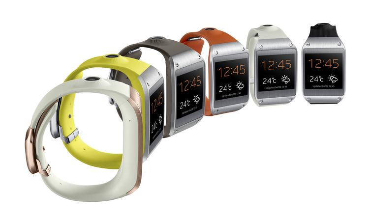 The Samsung Galaxy Gear smartwatch will launch with six available colors.