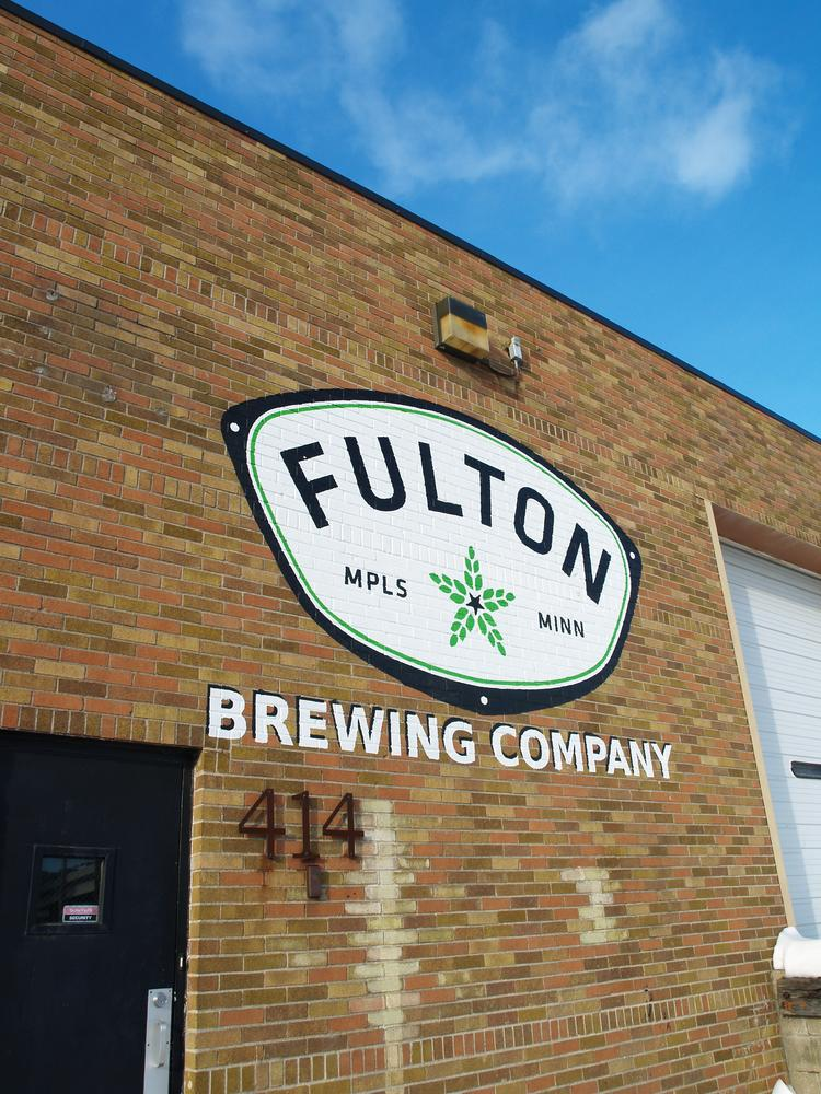 Fulton Brewing's 6,000-square-foot facility in Minneapolis' North Loop district.