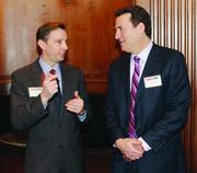Pete Eberhart of Henry Armstrong Associates, Inc. and Steven Shriber of Ditto Document Solutions, Inc.