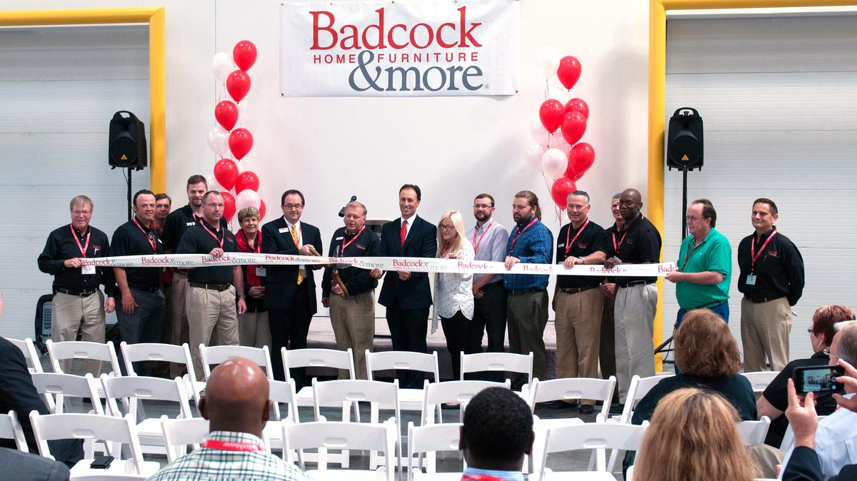 Badcock Opens 24 Million Distribution Center In Lagrange Atlanta Business Chronicle