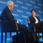 Phebe Novakovic hardly ever speaks in public. In a rare appearance, the General Dynamics CEO says why. (Video)