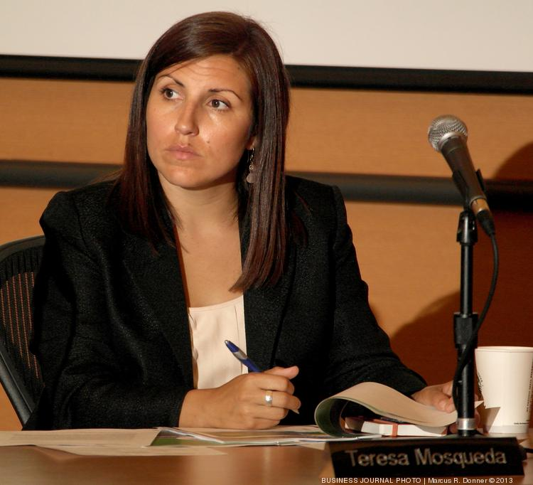 """Teresa Mosqueda, a member of the Washington State Health Benefit Exchange Board, acknowledged that """"there are problems"""" with the exchange. Mosqueda is also legislative and policy director for the Washington State Labor Council."""
