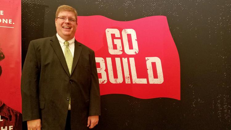 David Stansell, president of president of his family's 76-year-old Stansell Electric Co. Stansell also is president of the newly formed Go Build Tennessee workforce development campaign.