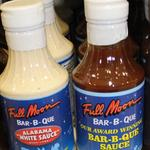 <strong>Full</strong> <strong>Moon</strong> <strong>Bar</strong>-B-Que sauces available in Publix stores