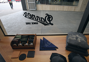 Danner opened its flagship Portland store at Union Way. The store faces West Burnside and Powell's City of Books.