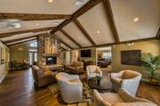 The first new apartment construction in Wyandotte County in 27 years, the Heights at Delaware Ridge features high-end interiors in its clubhouse (pictured) and one- through three-bedroom units.