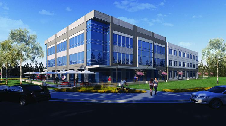 Corporate Office Properties Trust is planning to speculatively develop a 75,000-square-foot office building at the University of Maryland's research park.