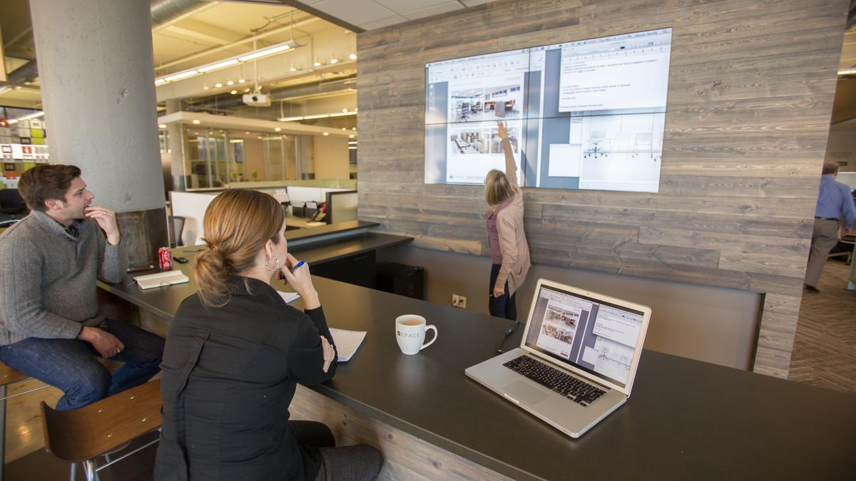 Cool Offices: Try Before You Buy At ISpace Furnitureu0027s HQ (Photos)    Minneapolis / St. Paul Business Journal