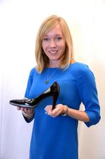 In her shoes: <strong>Lawton</strong> <strong>Koon</strong> favors black when it comes to high heels and ink