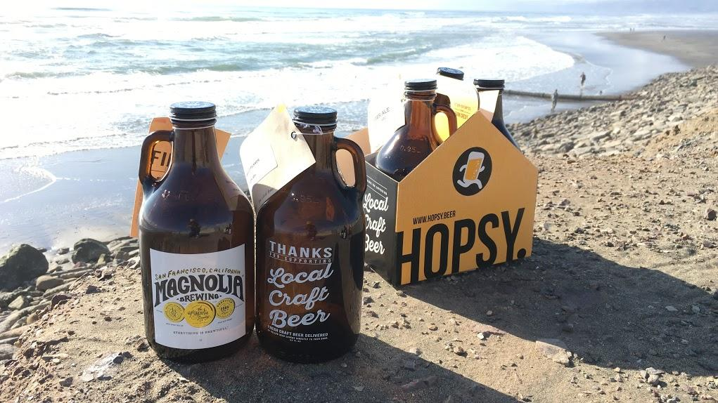 Bay area craft beer delivery service hopsy gets techie for Craft beer san francisco