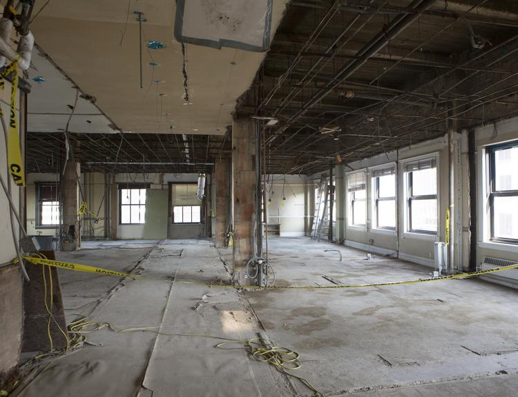 It doesn't look like much now, but the Scarbrough Building is on the verge of wowing brokers.