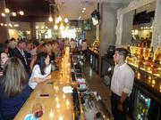 The bar at Coppa Osteria