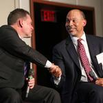 Tackling health care's key issues with Novant, Carolinas HealthCare CEOs (PHOTOS)