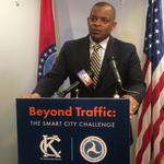 KC leaders pitch U.S. DOT's <strong>Foxx</strong> on $50M smart city grant