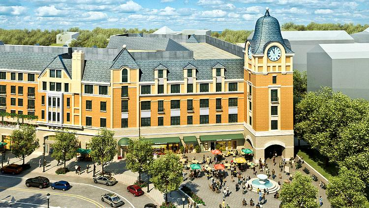 Barnes & Noble will go in the ground floor of the cornerstone building at Monroe Street Market.