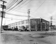 A 1931 image of Portland General Electric's Hawthorne Building in the Central Eastside Industrial District.