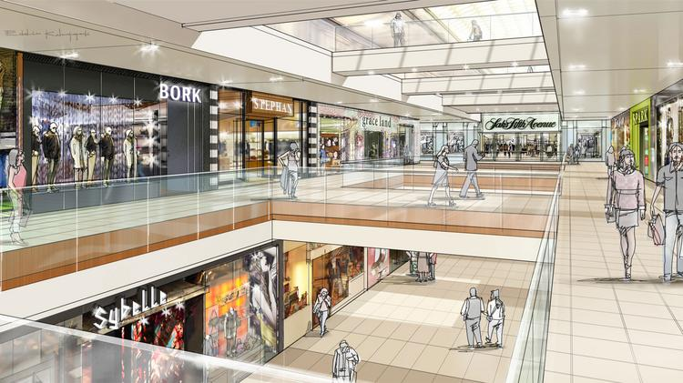 13931b0a2c11 Galleria renovations project sets opening dates for Hugo Boss