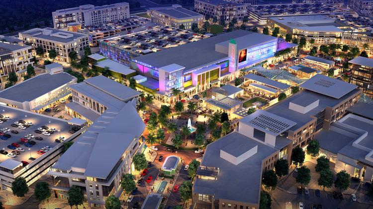 A rendering of what may come to the Lake Nona Town Center.