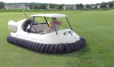 Windy Knoll has stirred up a ton of interest around the country since announcing earlier this summer it would be the first course in the U.S. to two Neoteric Golf hovercrafts for use as golf carts.