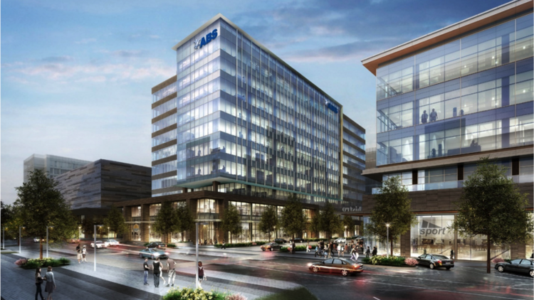 Abs to move headquarters to springwoods villages cityplace mixed