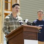 Brewers' Ryan Braun lends hand to Habitat for Humanity build: Slideshow